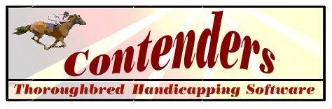 Contenders Thoroughbred Handicapping Software and Selections